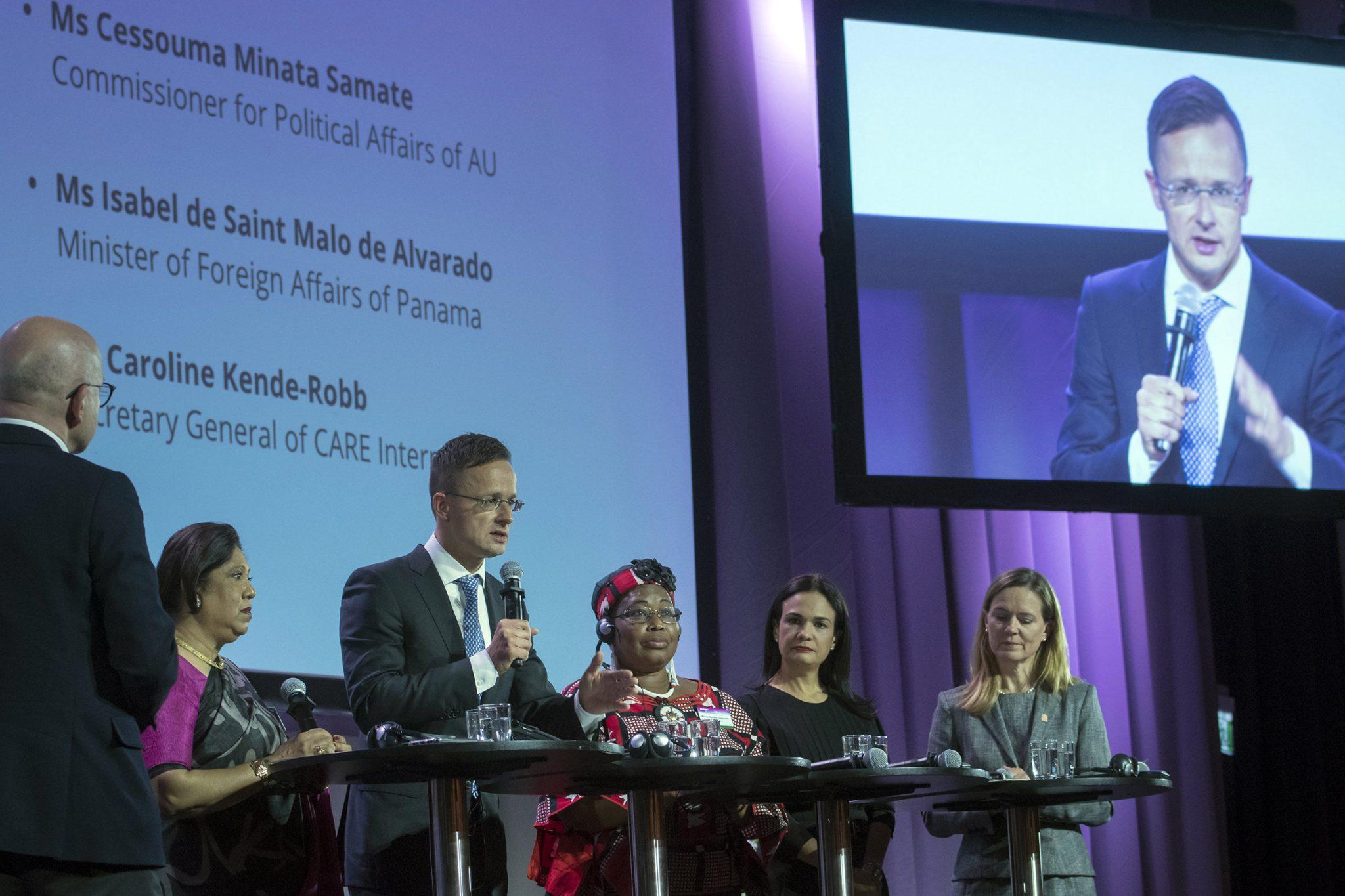Szijjártó: Wartime Sexual Violence Must Not Be Left Unpunished post's picture