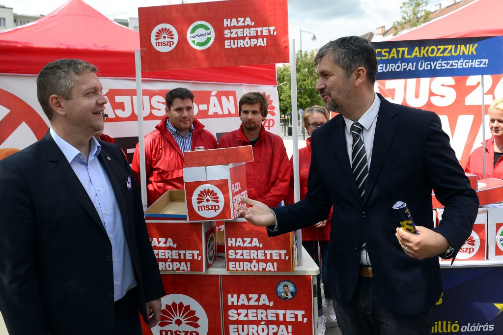 Socialists-Párbeszéd Gathers 75,000 Sigs Supporting Hungary Joining EU Prosecutor's Office post's picture