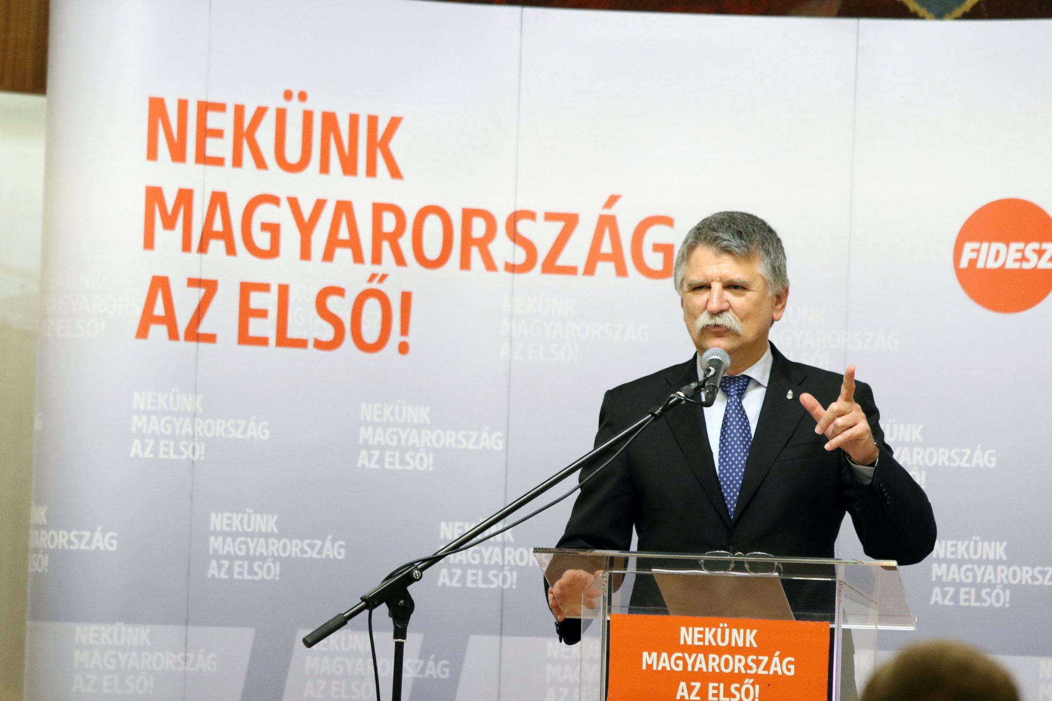 House Speaker Kövér Sees 'Total Political War' in Hungary, Slams 'Destructive' Opposition post's picture