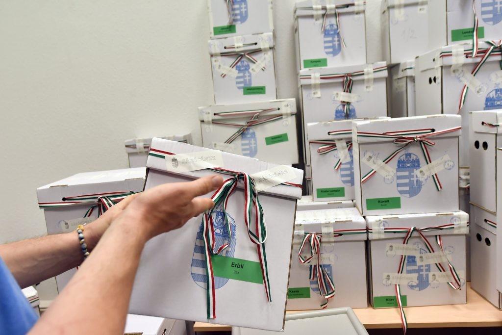 EP Election: Turnout at Hungary's Foreign Missions 87 pc post's picture