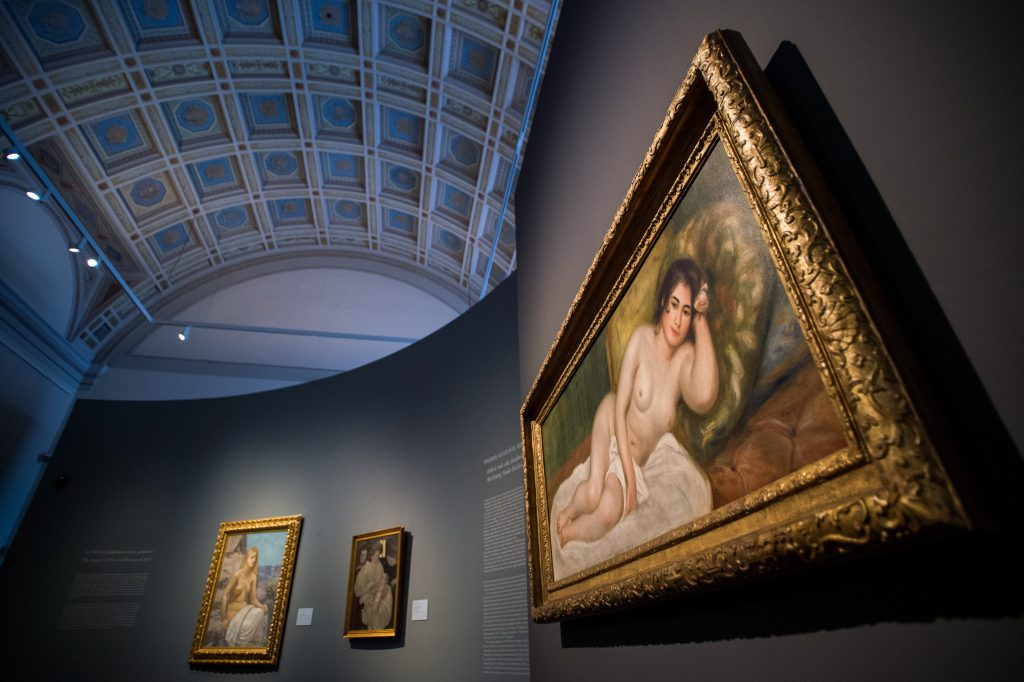 Recently Purchased Renoir Nude on Display at the Museum of Fine Arts post's picture