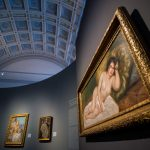 Recently Purchased Renoir Nude on Display at the Museum of Fine Arts