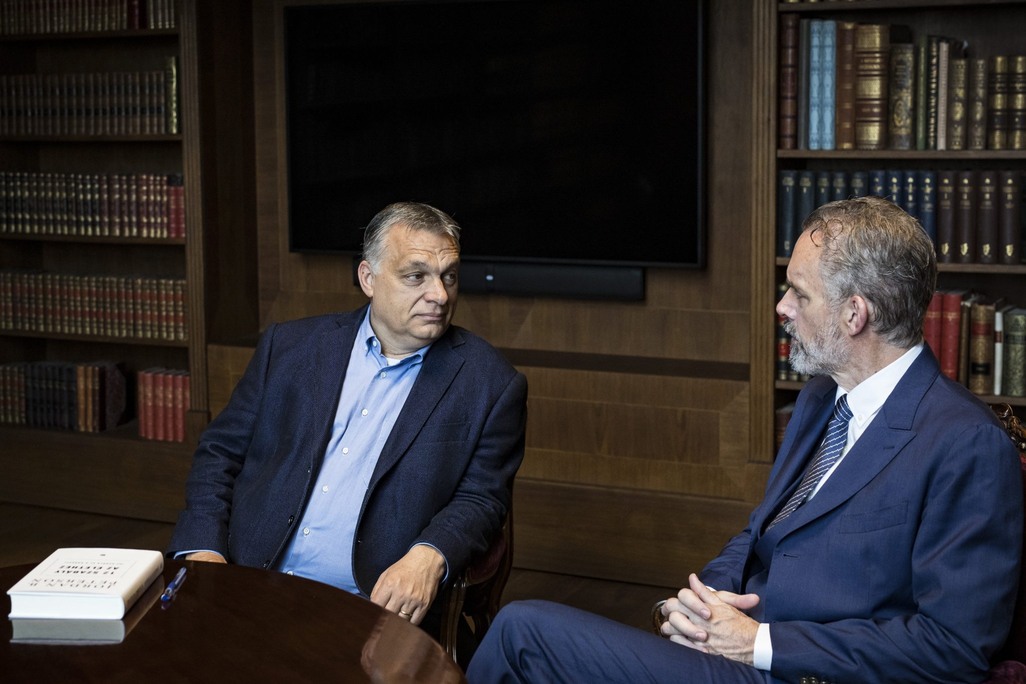 Orbán Meets Jordan Peterson in Budapest post's picture
