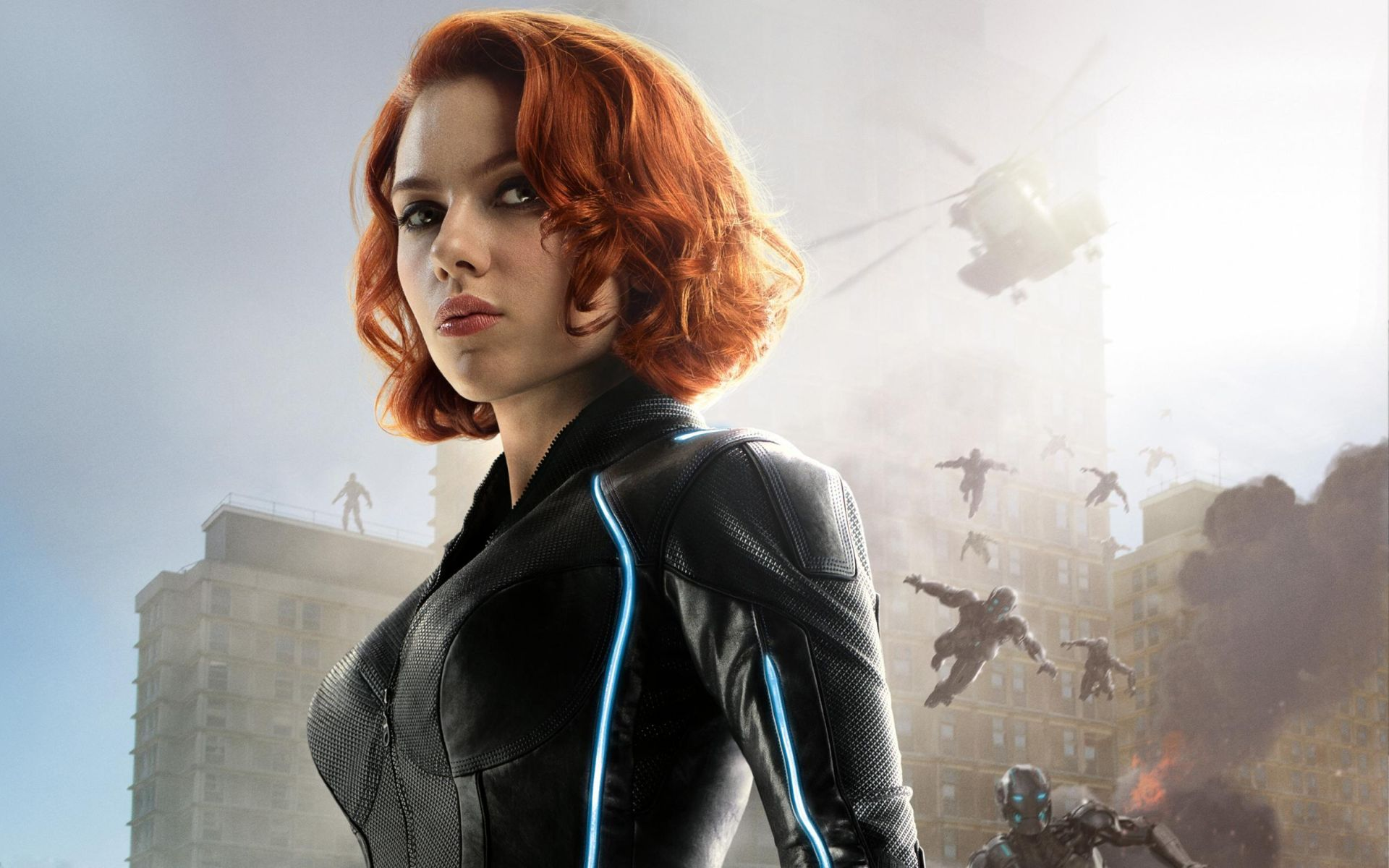 The Latest Black Widow Footage Asks 'Who Is Hell That Guy?'