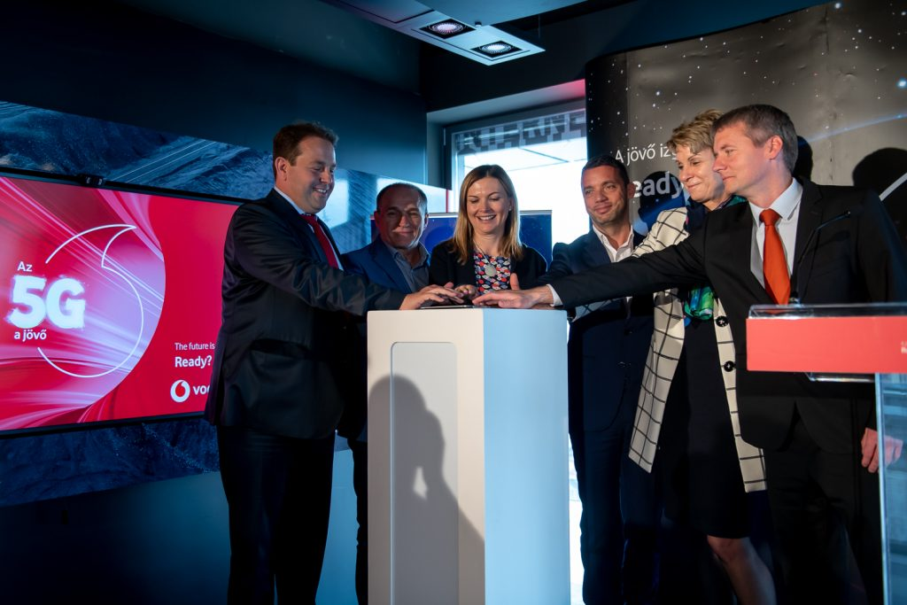 Vodafone Installs Its First 5G Base Station in Budapest post's picture