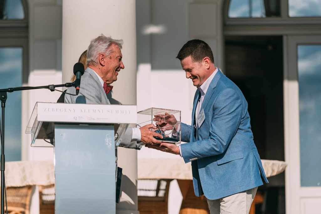 E. Sylvester Vizi Hands Over Friend of Hungary Award to Christopher Ball, Honorary Consul in Connecticut post's picture