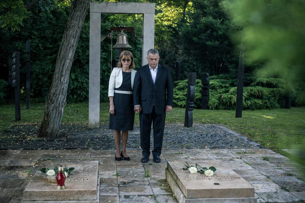 Orbán Pays Tribute to Martyred 1956 PM Imre Nagy post's picture