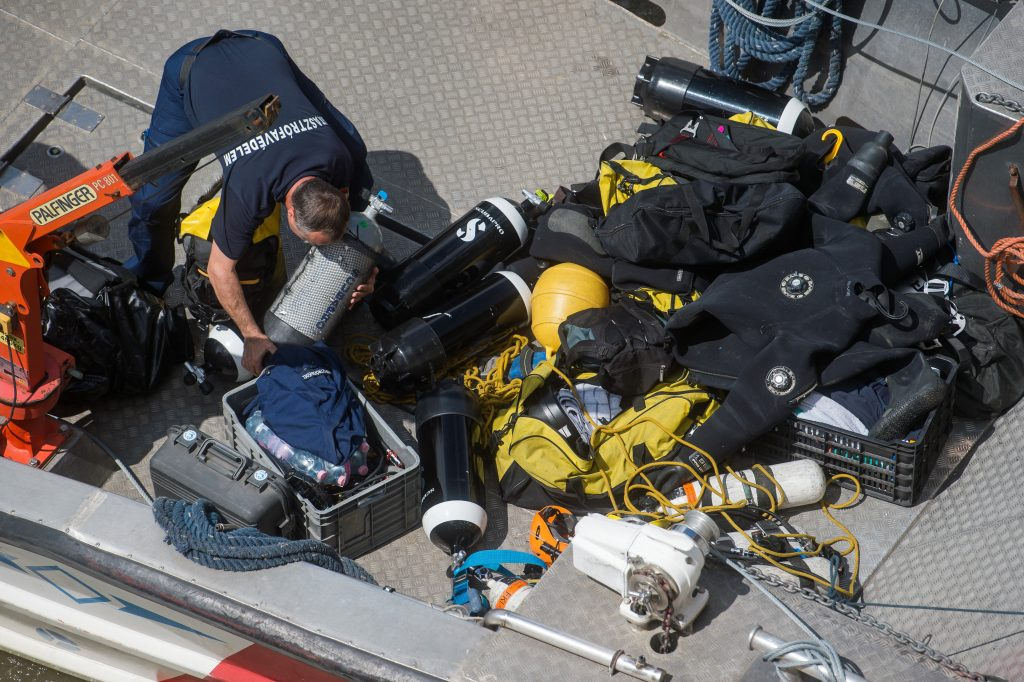 Ship Collision: Divers Recognised for Efforts post's picture