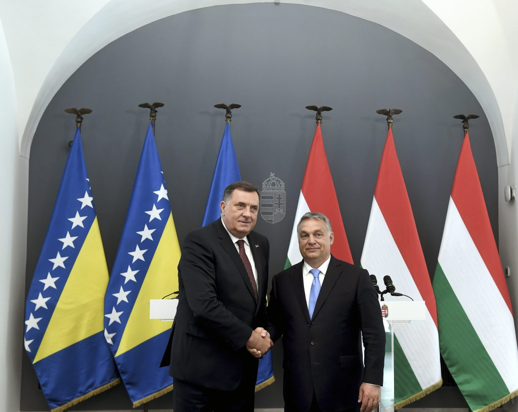 Orbán and Dodik Agree to Intensify Ties between Hungary and Republika Srpska post's picture