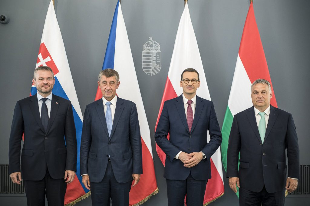 V4 PMs Agree to Present United Front at EU Summit post's picture