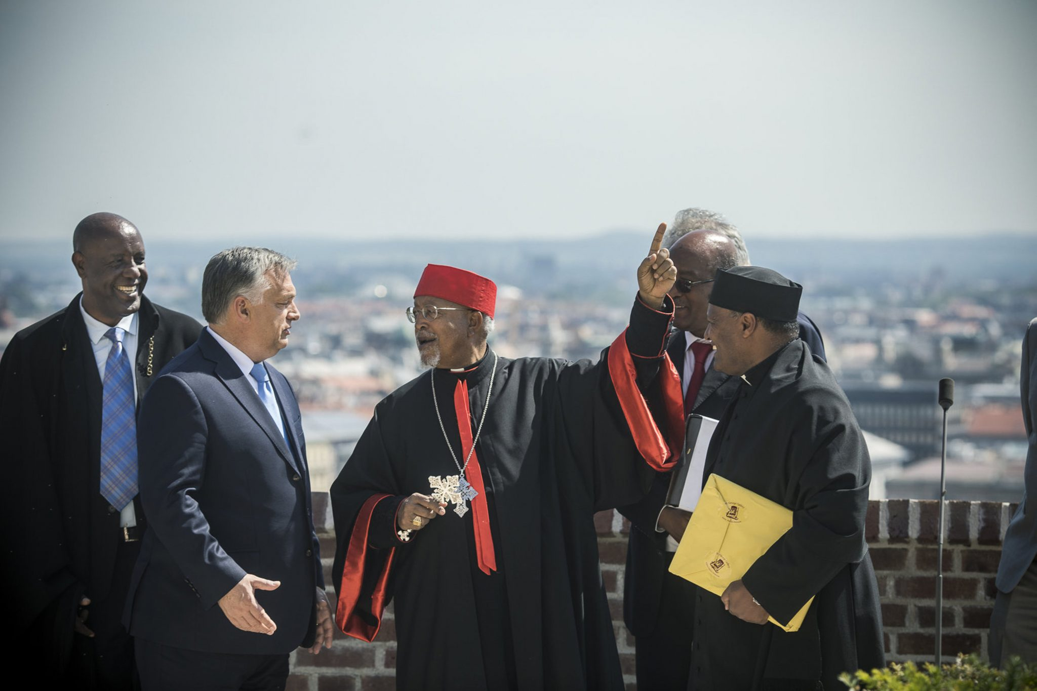 Orbán Meets Ethiopia Christian Leaders post's picture