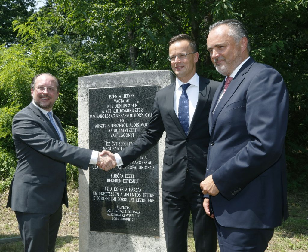 Hungarian, Austrian Foreign Ministers Mark 30th Anniversary of Iron Curtain Opening post's picture