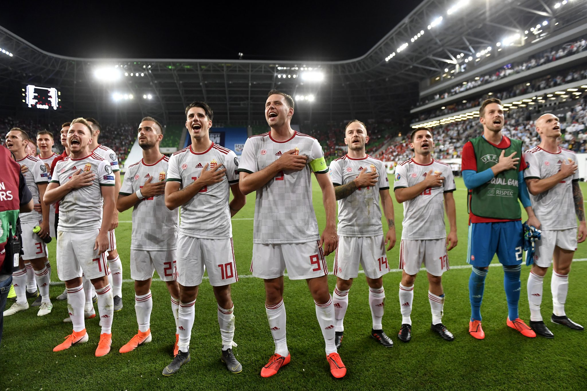 Euro2020 Qualifiers: Hungary Beats Wales, Stands at Top of Group E post's picture