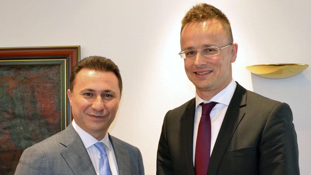 Foreign Minister Regularly Meets Former Macedonian PM Gruevski to Discuss Balkan Issues post's picture