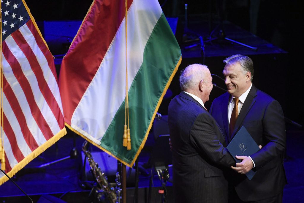 "US Ambassador Cornstein: ""Orbán Perfect Partner"" post's picture"