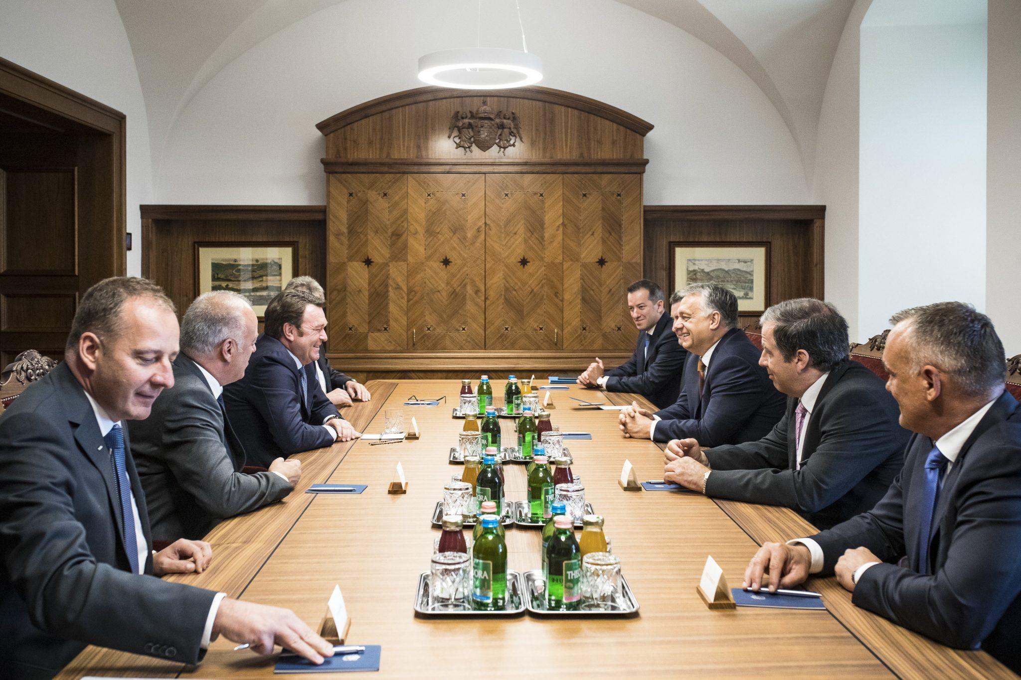PM Orbán Meets Audi Chairman post's picture