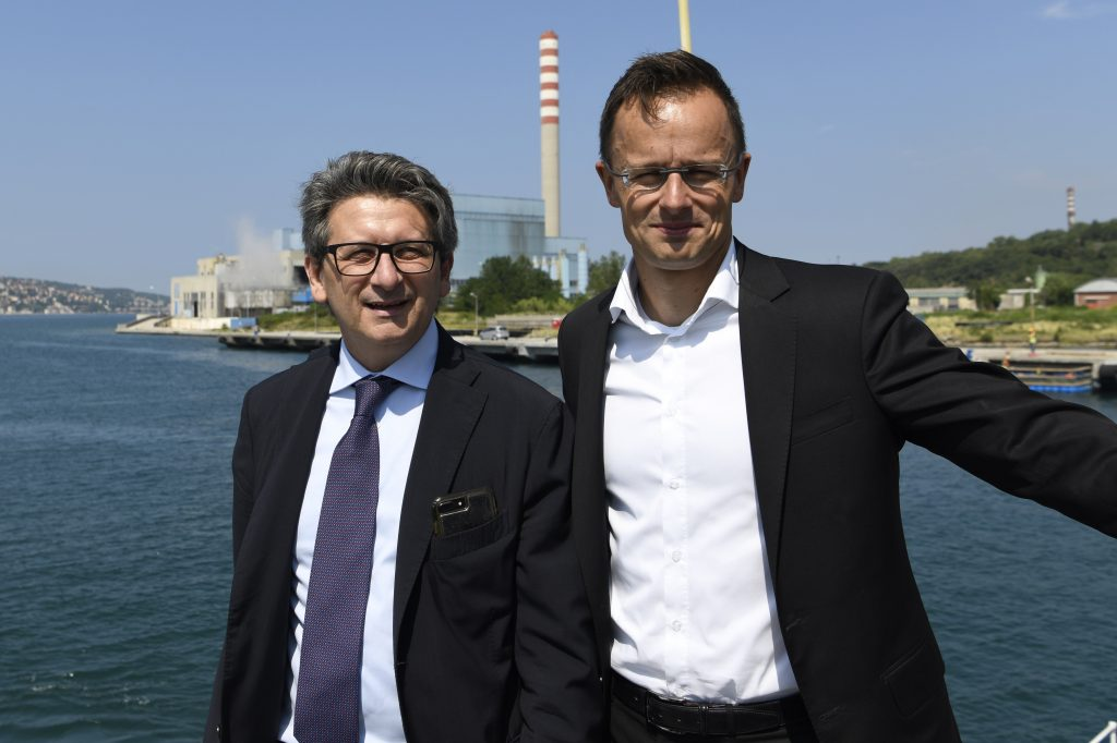 Szijjártó: Trieste Port to Strengthen Hungary post's picture