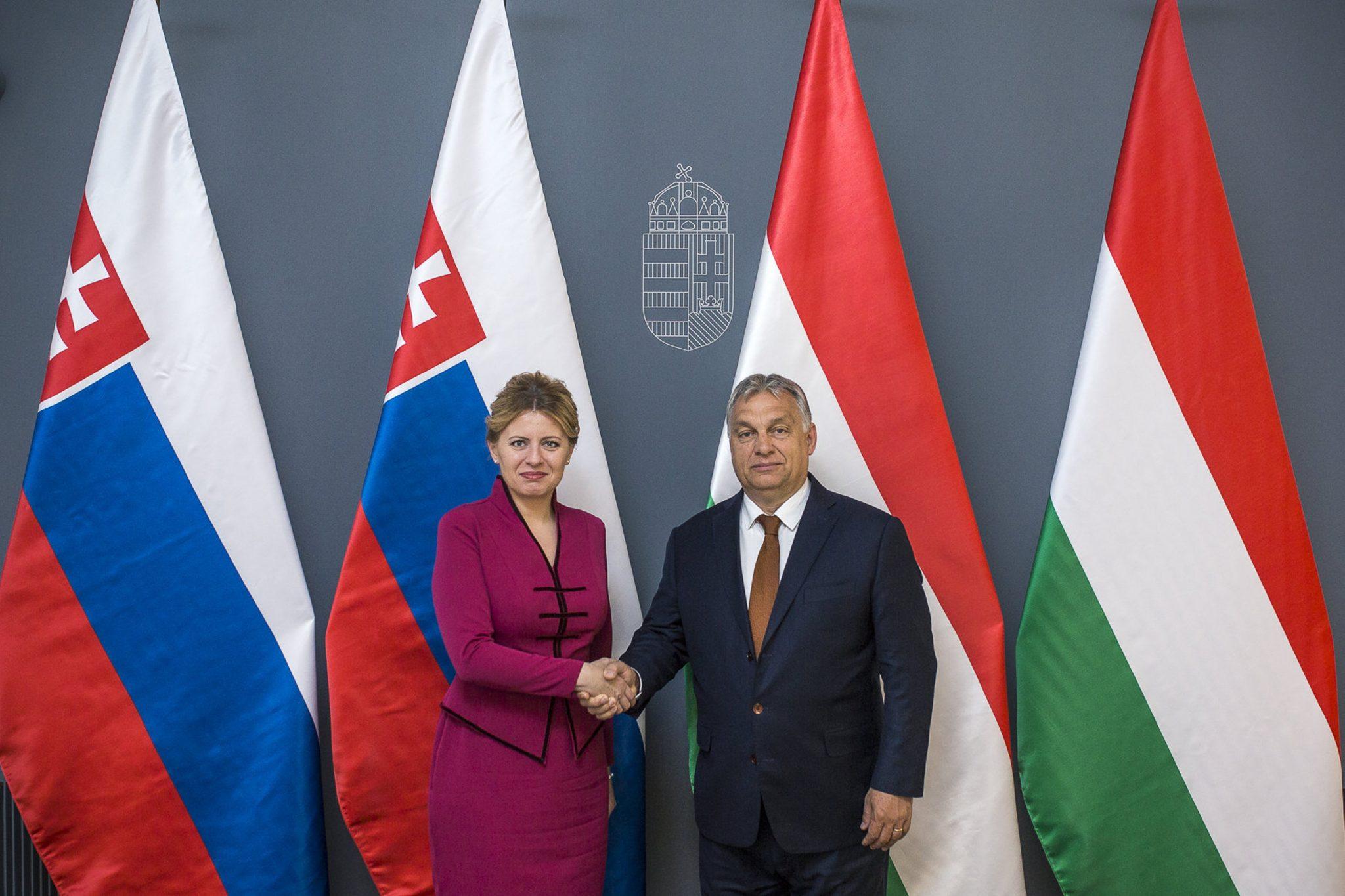 Orbán Meets Caputova: Hungary, Slovakia Important Partners post's picture
