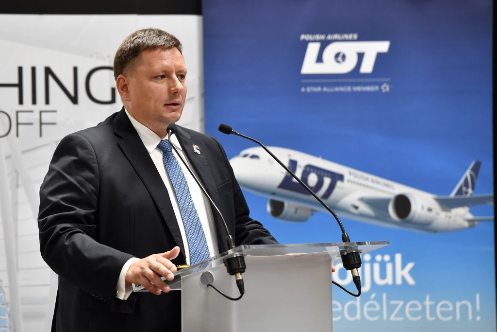 LOT to Launch Five New Flights from Budapest post's picture