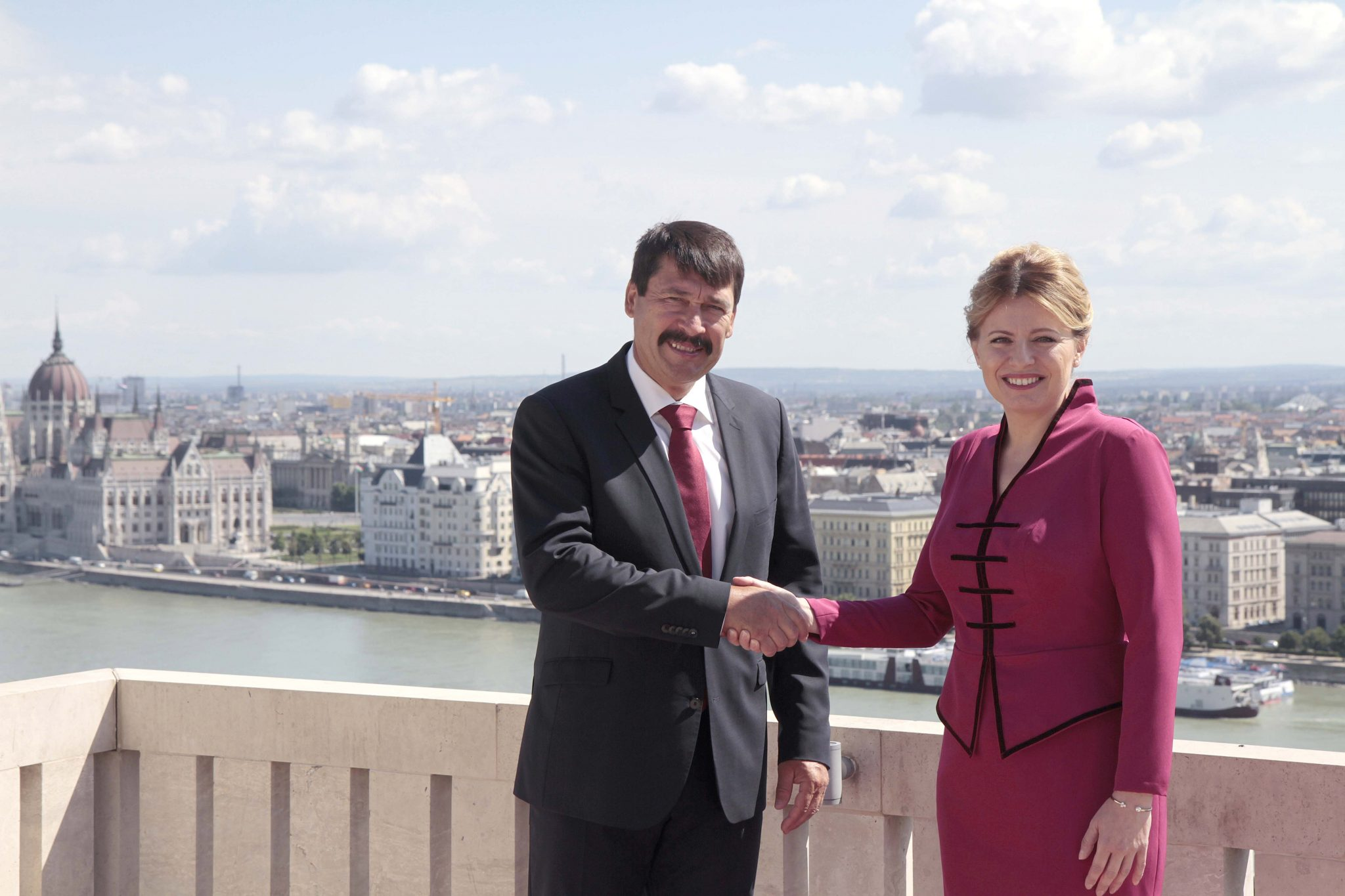Climate Change, Migration Focus of Hungarian, Slovak Presidents' Talks post's picture