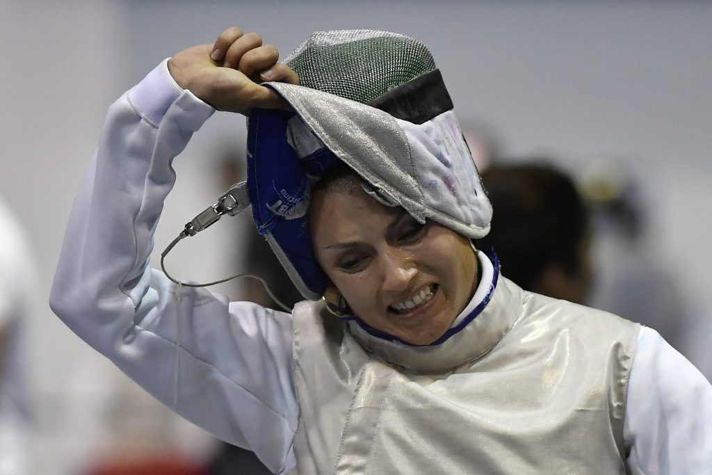 Hungarian Fencer Aida Mohamed Writes Olympics History post's picture
