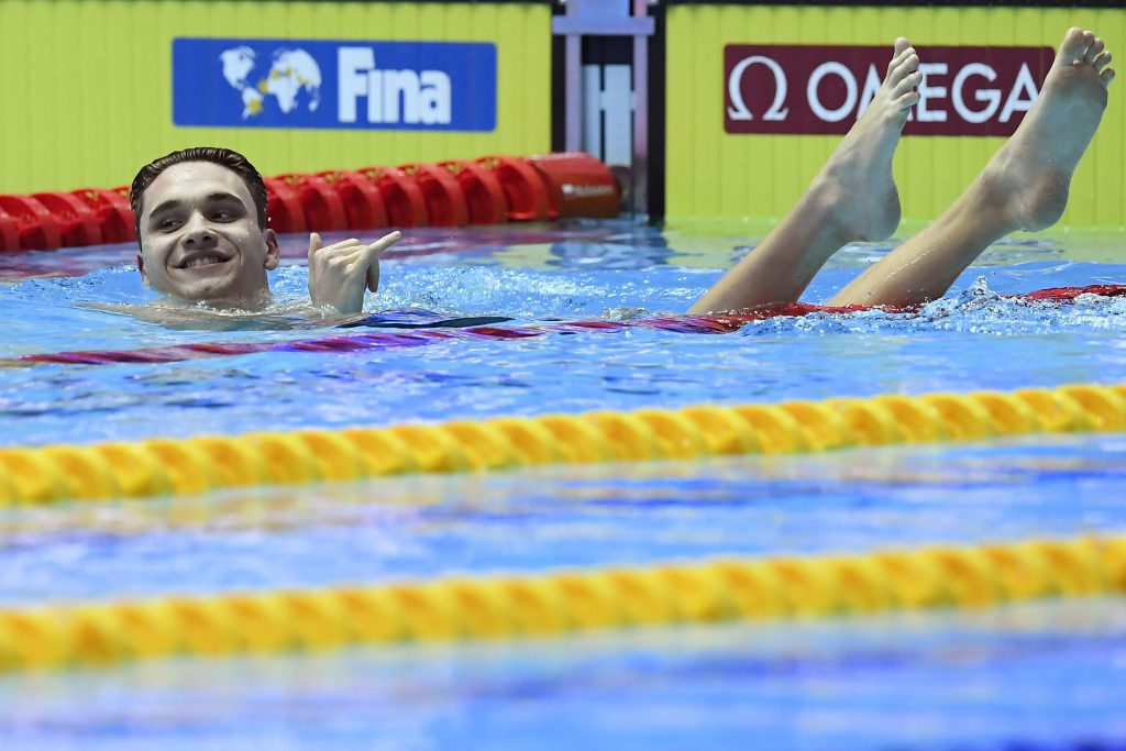 Kristóf Milák Wins 200 Fly Gold with Astounding World Record post's picture