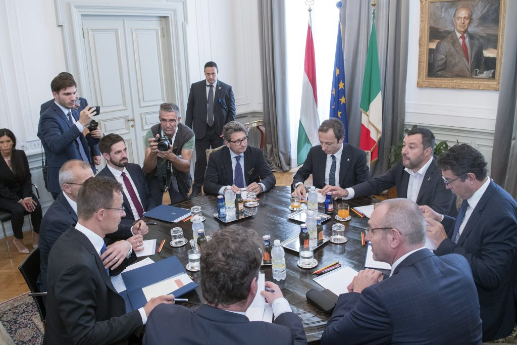 Szijjártó: Hungary, Italy Strategic Allies post's picture