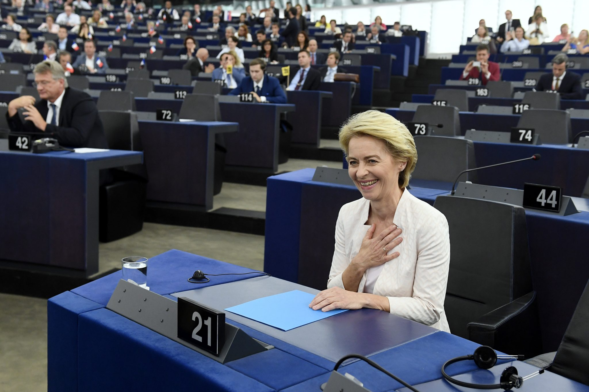 Ursula von der Leyen Elected European Commission President post's picture