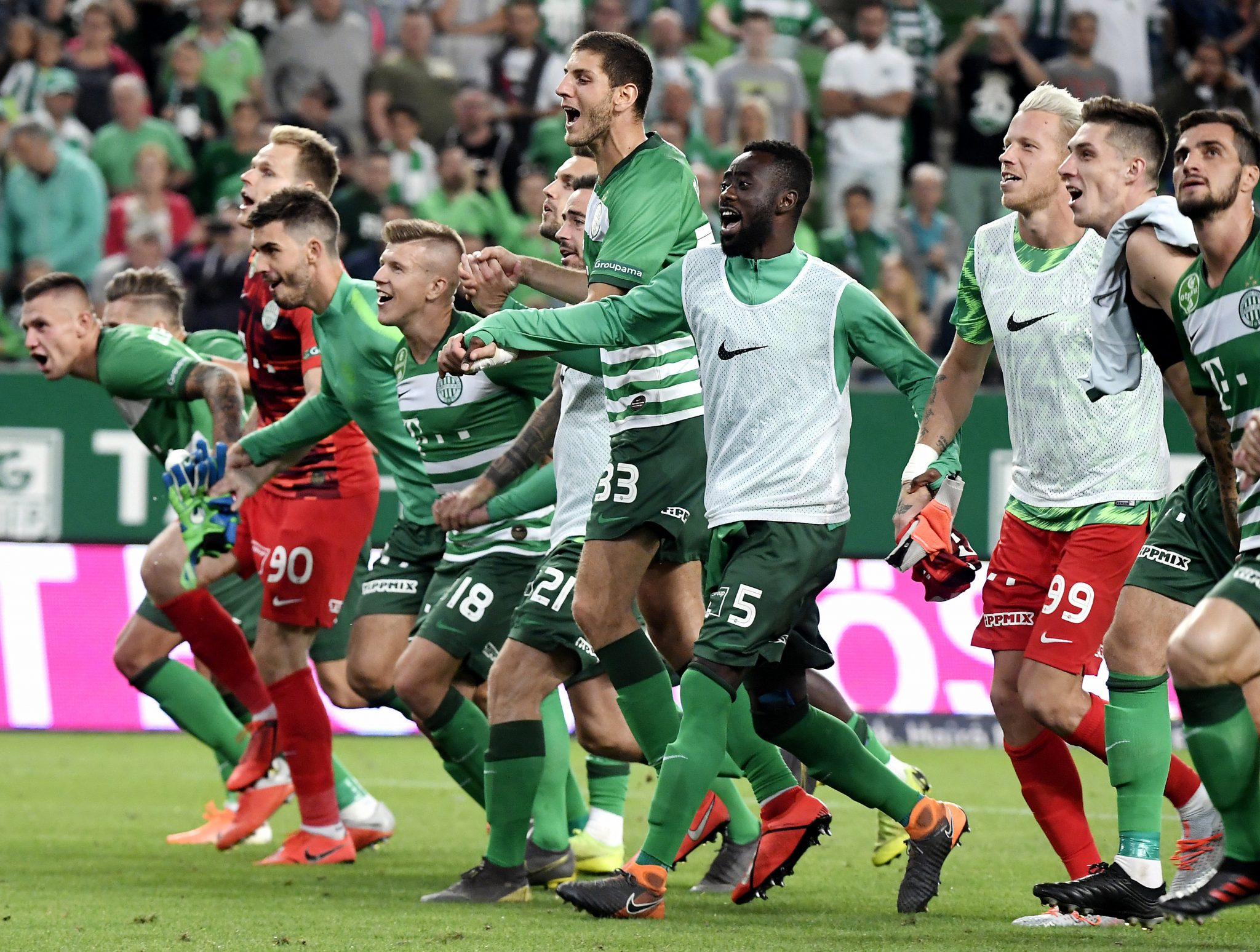 Ferencváros Advances to Champions League Qualification With Double Victory post's picture