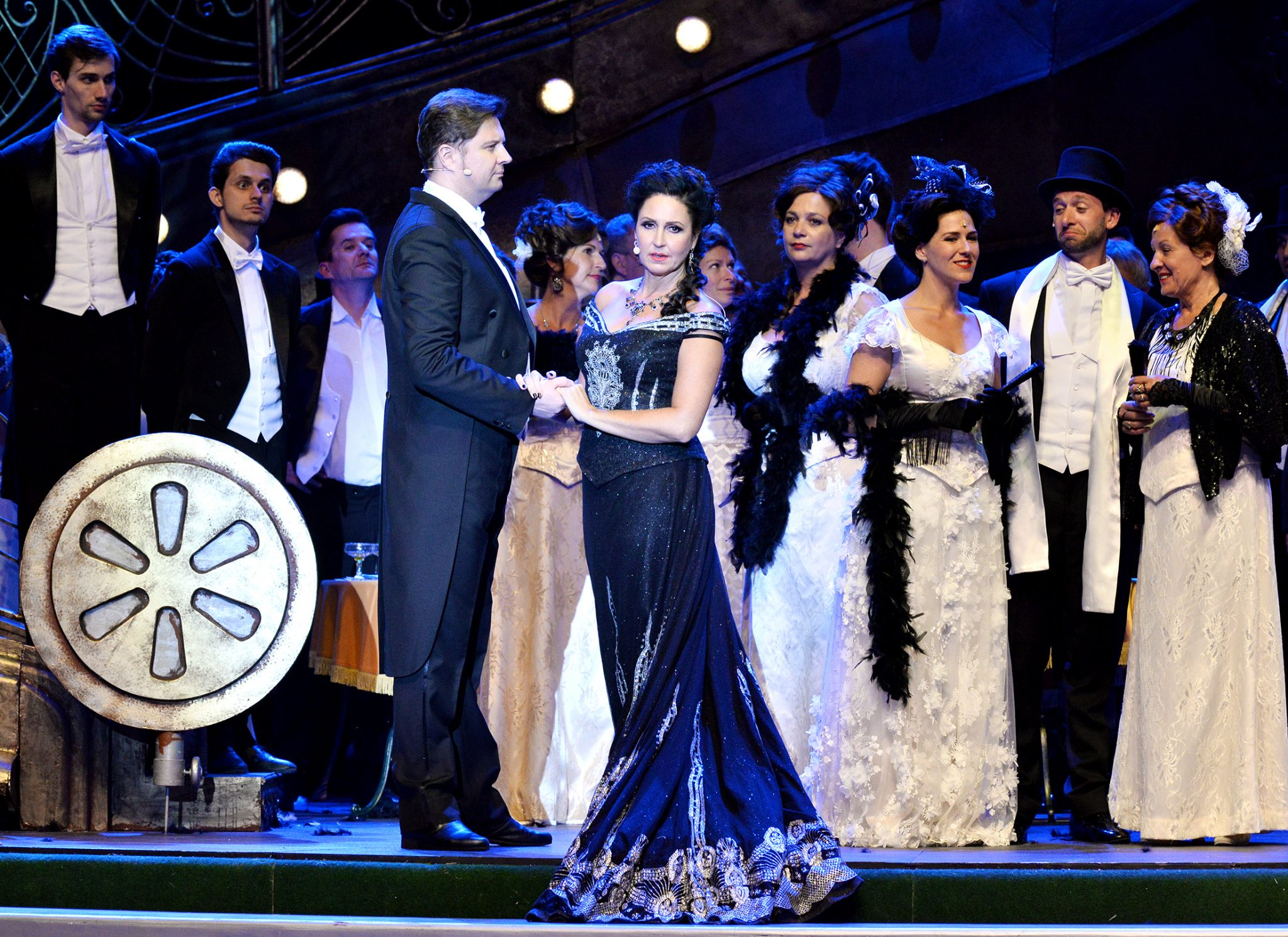 """Kálmán's """"Gypsy Princess"""" Sparkles in Budapest Summer Festival's Margitsziget OpenAir Stage post's picture"""