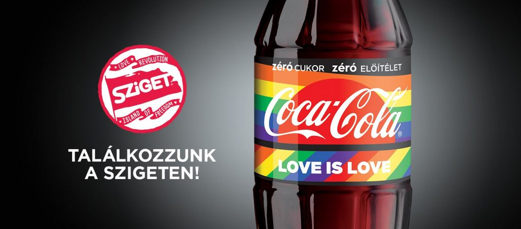 Coca-Cola Replaces Same-Sex Couple Ads to Rainbow-Colored Bottle Images post's picture