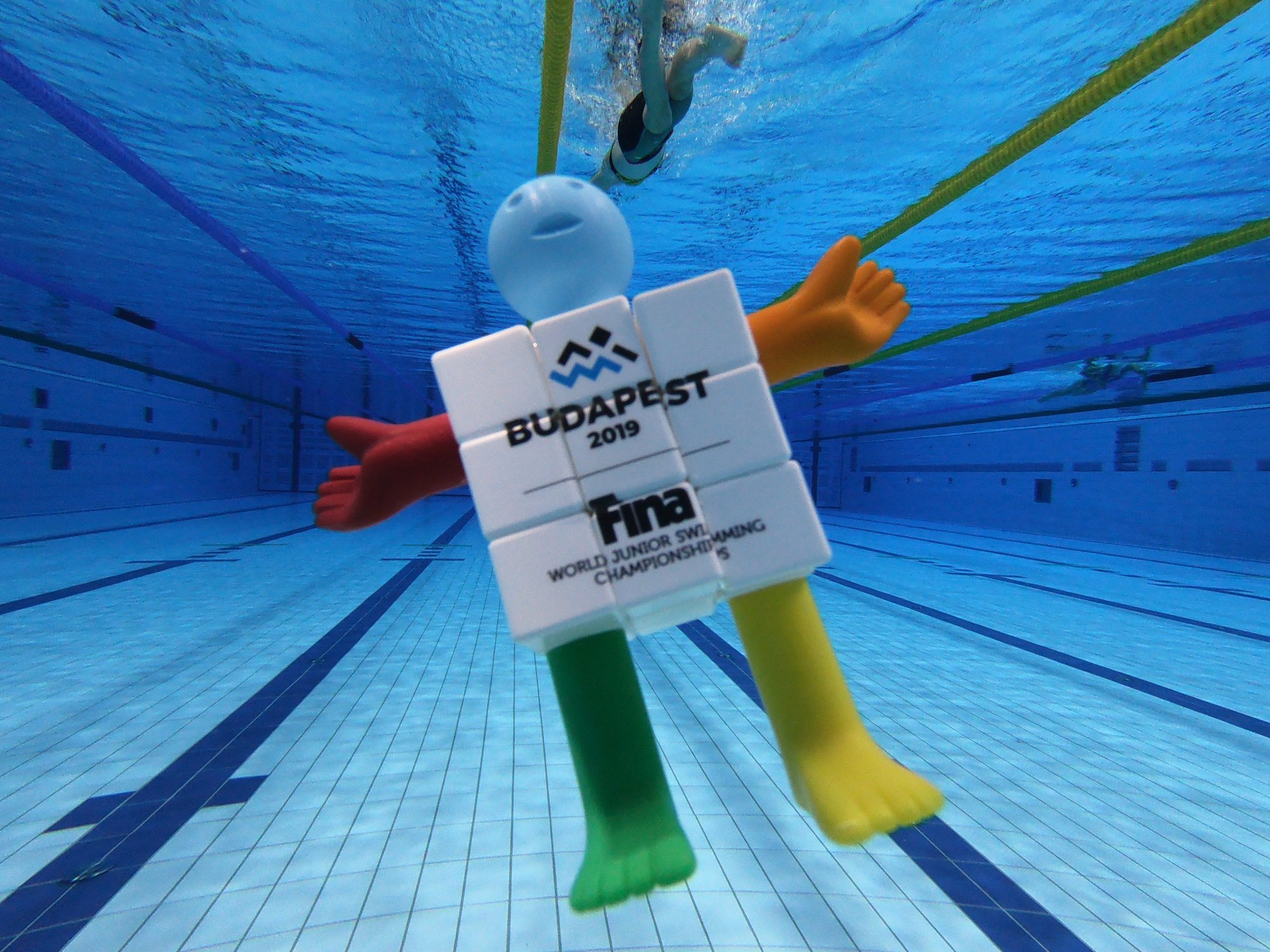 Rubik's Cube-Inspired Mascots Chosen for World Junior Swimming Championships in Budapest post's picture