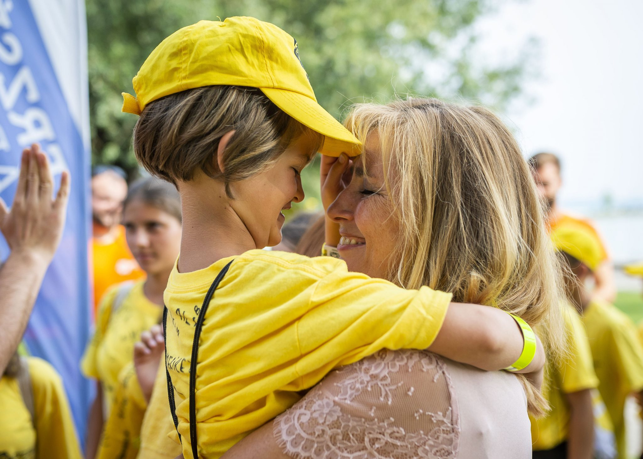 First Lady Visits State-sponsored Children's Summer Camp post's picture