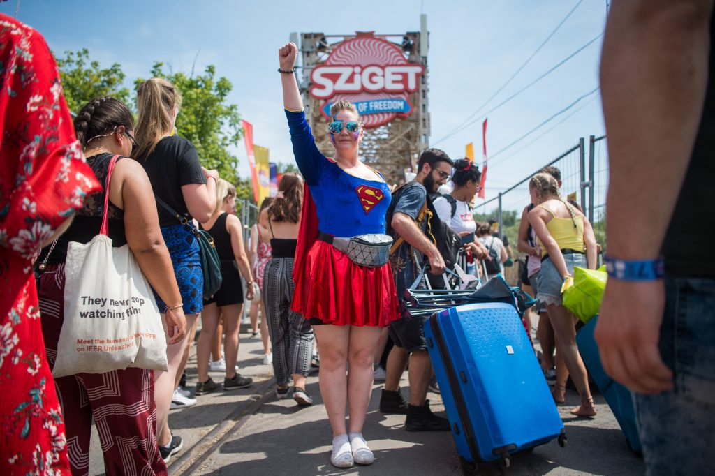 Police: Every Effort Made to Keep Sziget Festival Safe post's picture