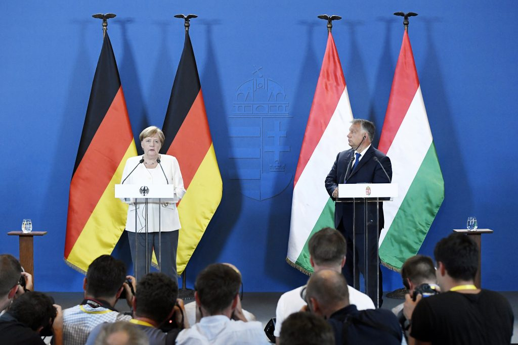 Did Merkel Really Praise Hungary for Use of EU Funds? Proof Ends Debate post's picture