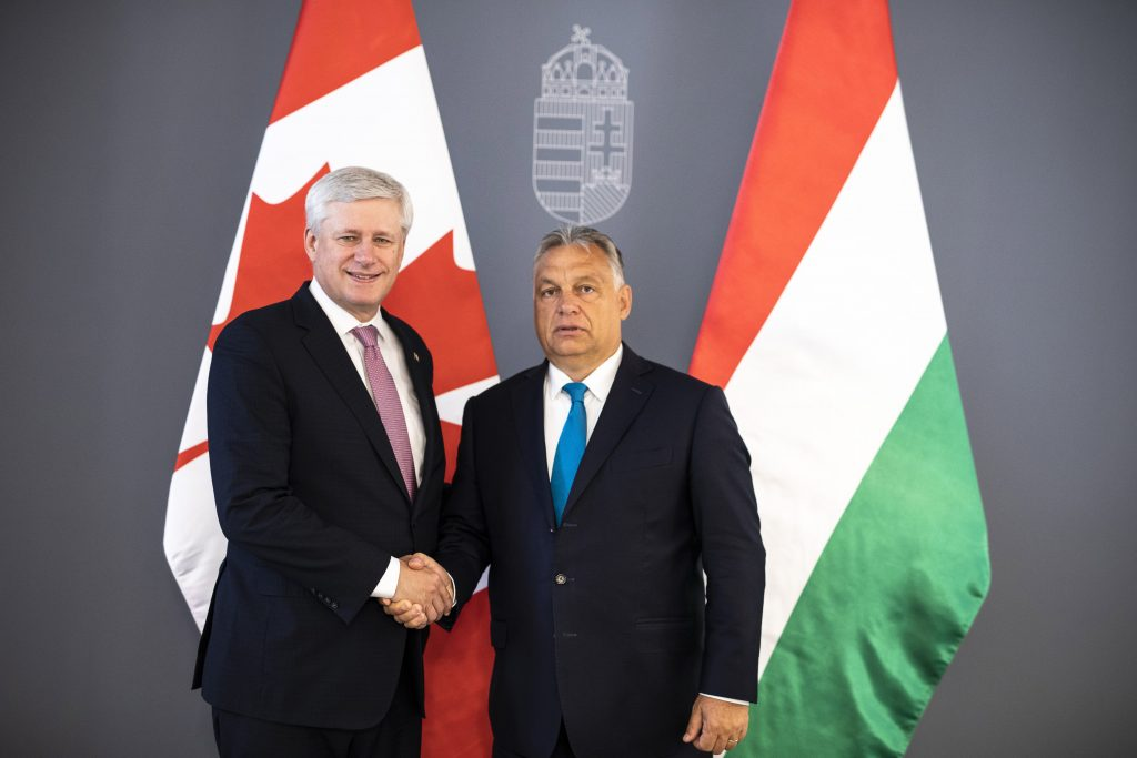 Orbán Meets Former Canadian PM post's picture