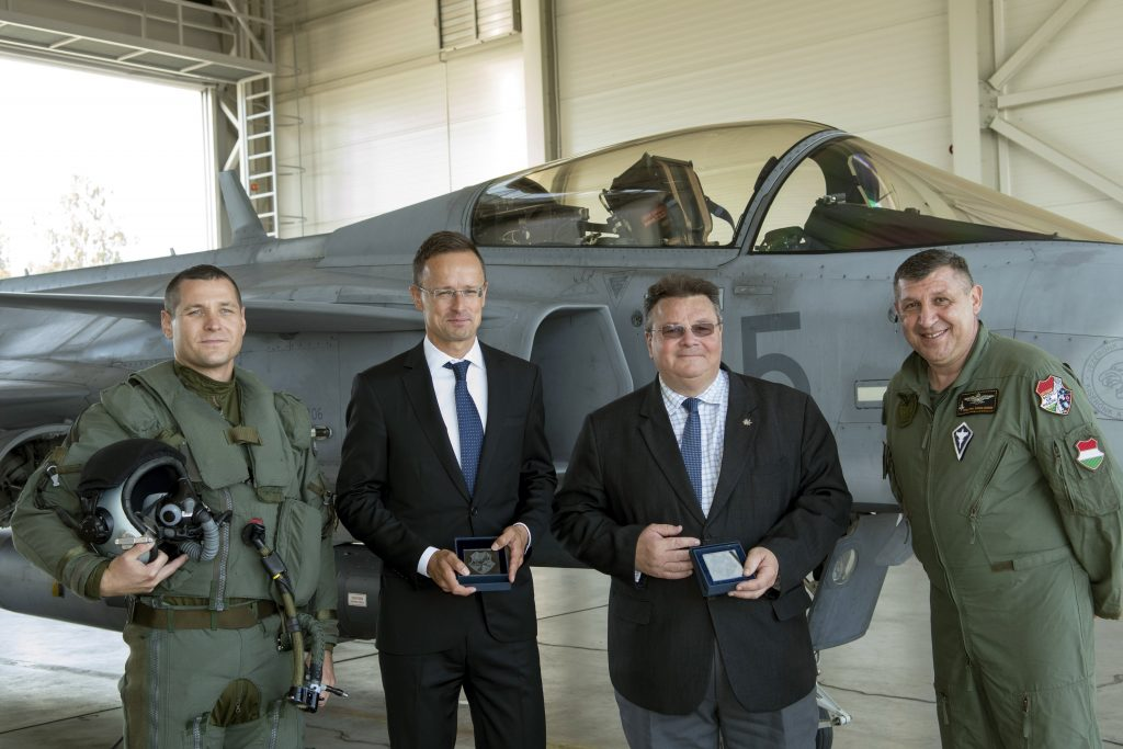 Szijjártó: Hungary to Resume Baltic Airspace Mission from 2022 post's picture