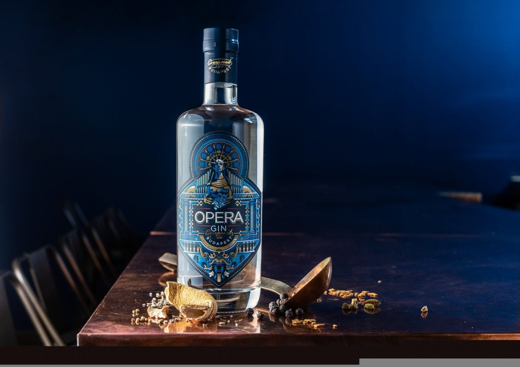 Label of Hungarian Craft Gin Wins Prestigious Product Design Award post's picture