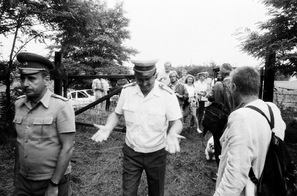 'Hundreds of East Germans came to get through the border. I only had minutes to decide whether I would stop them or not. I think I made the right choice' post's picture