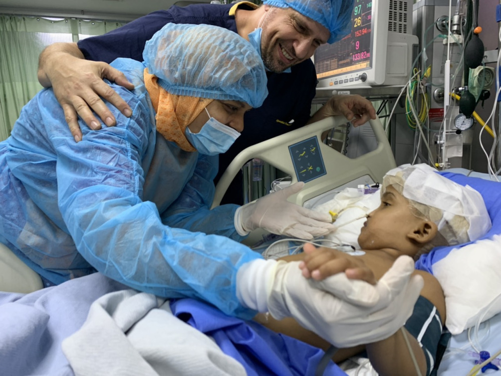 One of Separated Siamese Twins Already Awake post's picture