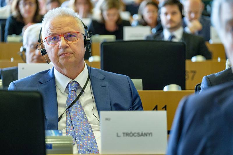 Trócsányi Steps Back in EP as He Targets Commission Membership post's picture
