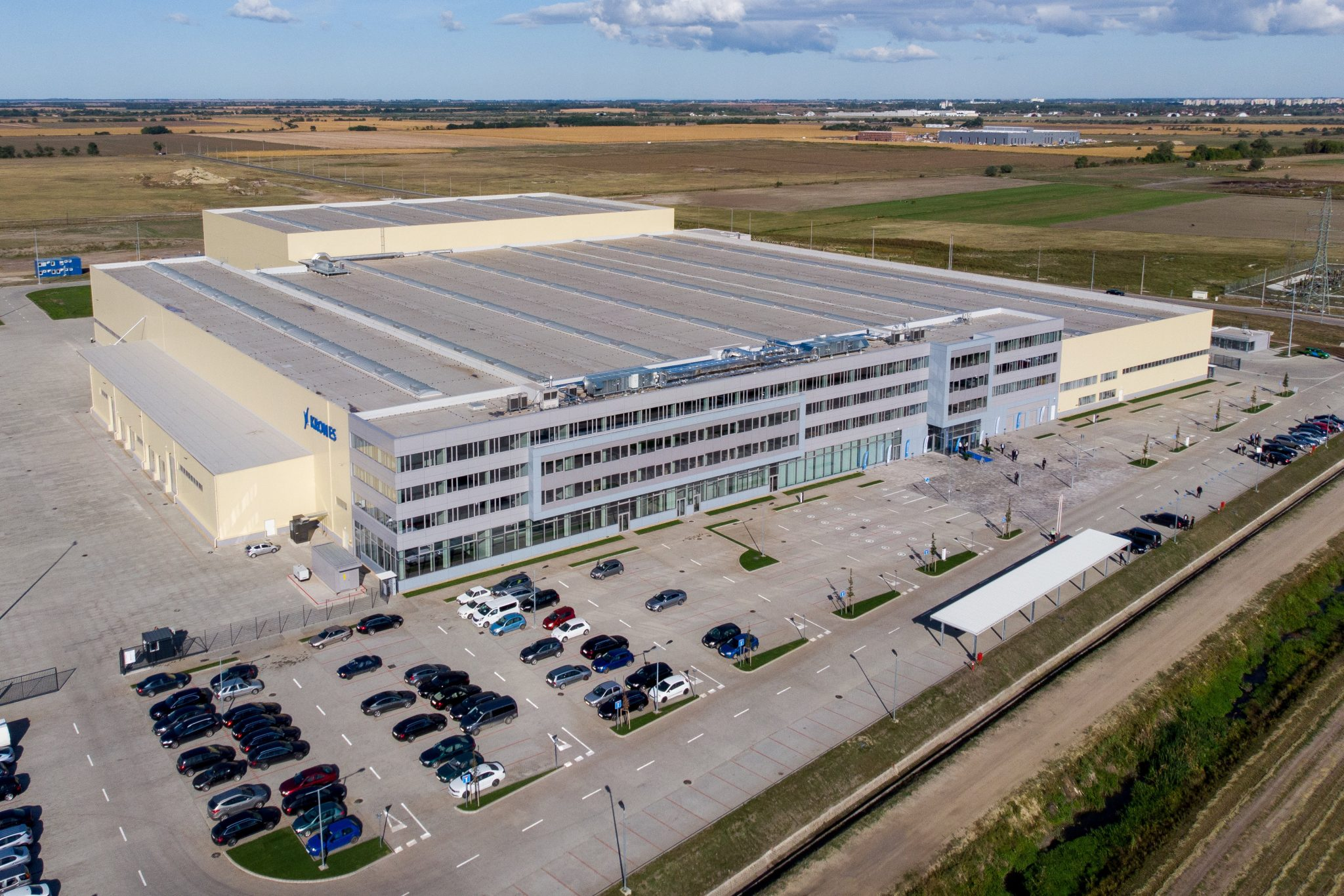 Krones Inaugurates HUF 15 bn Plant in Debrecen post's picture