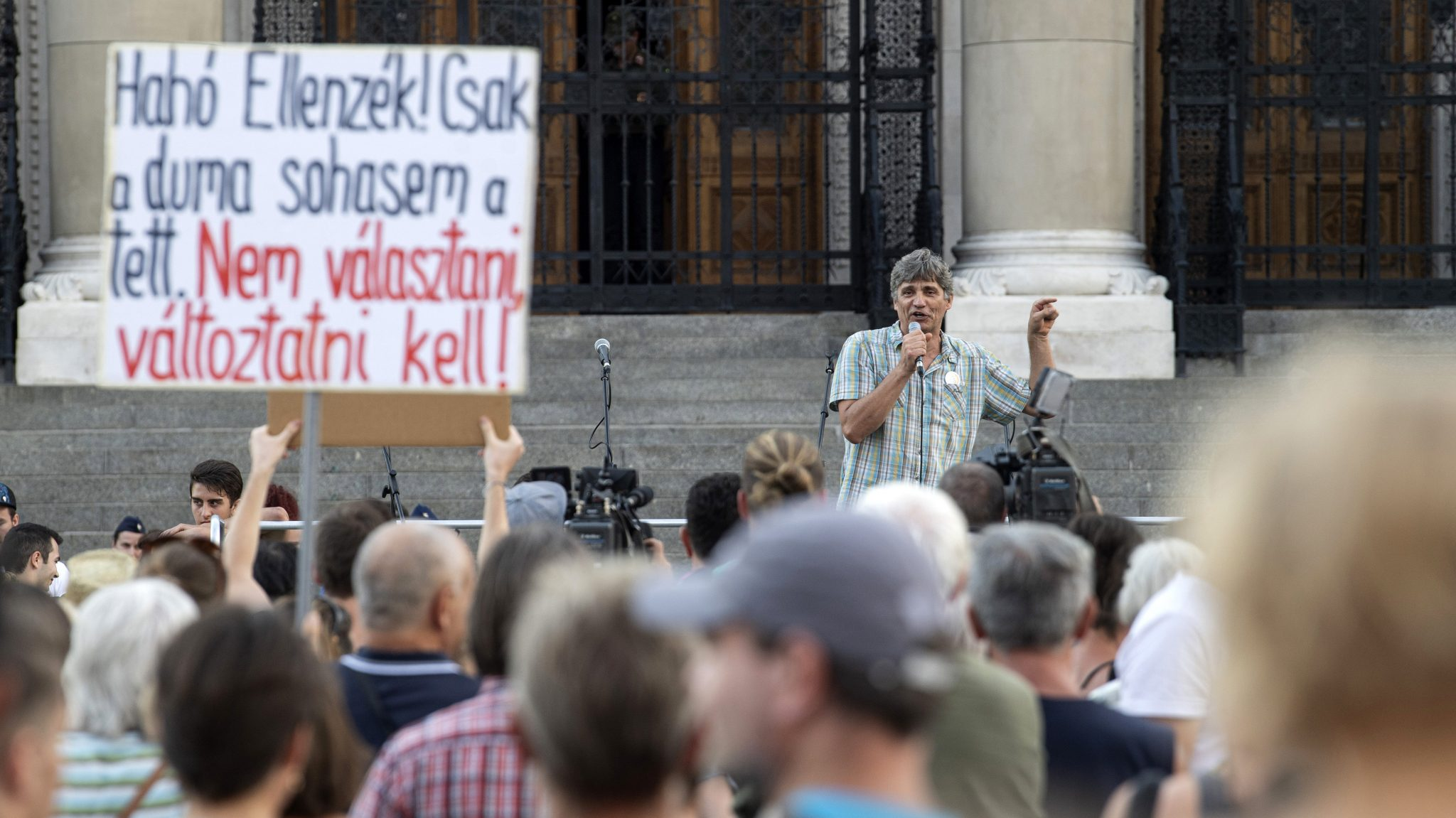 Demonstration Against Recent Education Law Amendment post's picture