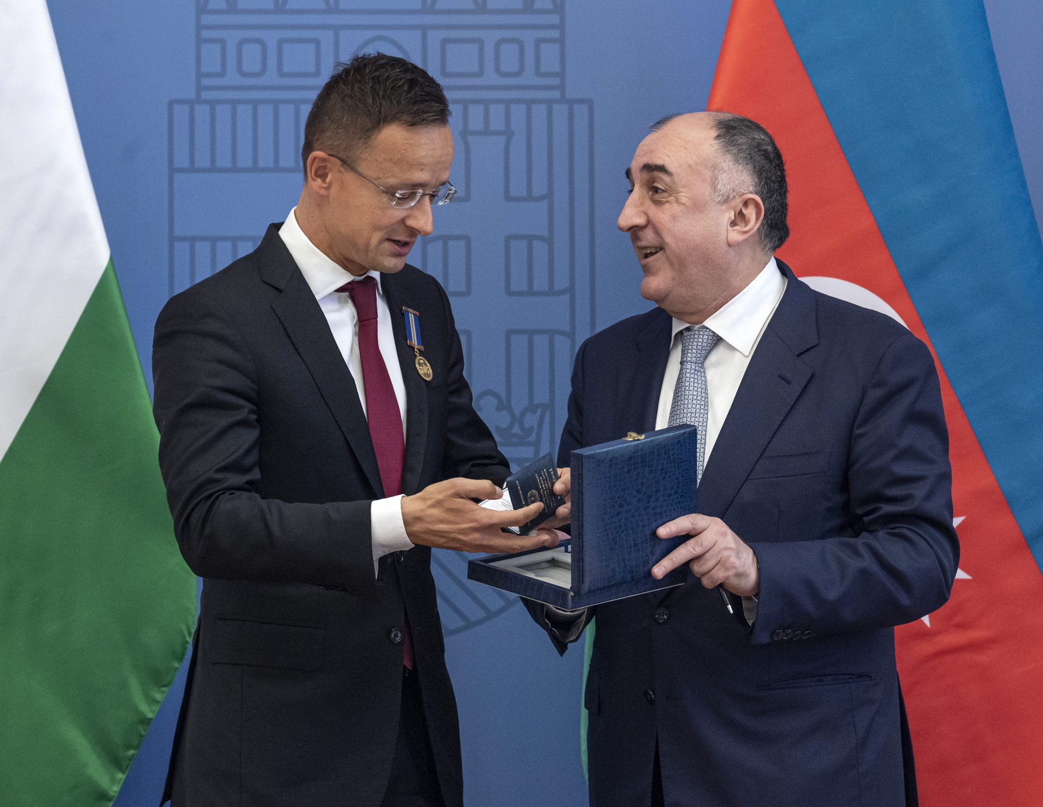 Azerbaijan Awards Foreign Minister Szijjártó for 'Friendly Openness' post's picture