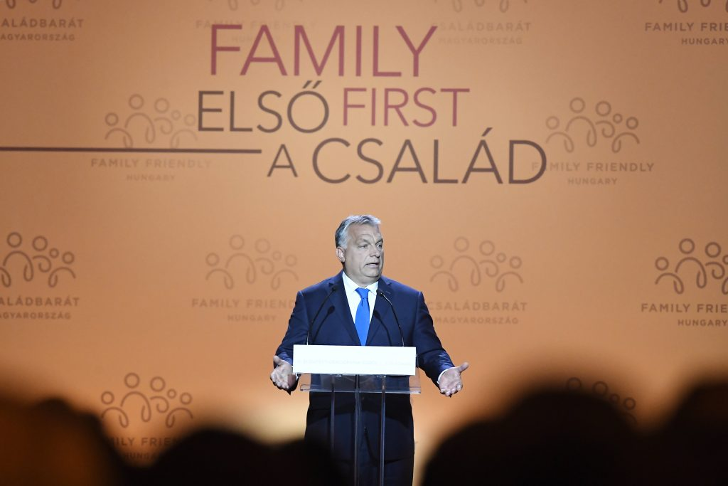 Orbán: Govt Duty to Pursue Strong Demographic Policy post's picture