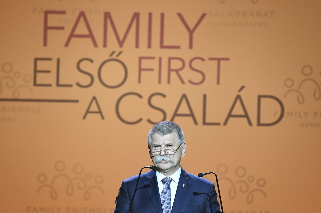 Kövér: 'Having Children is Public Affair' post's picture