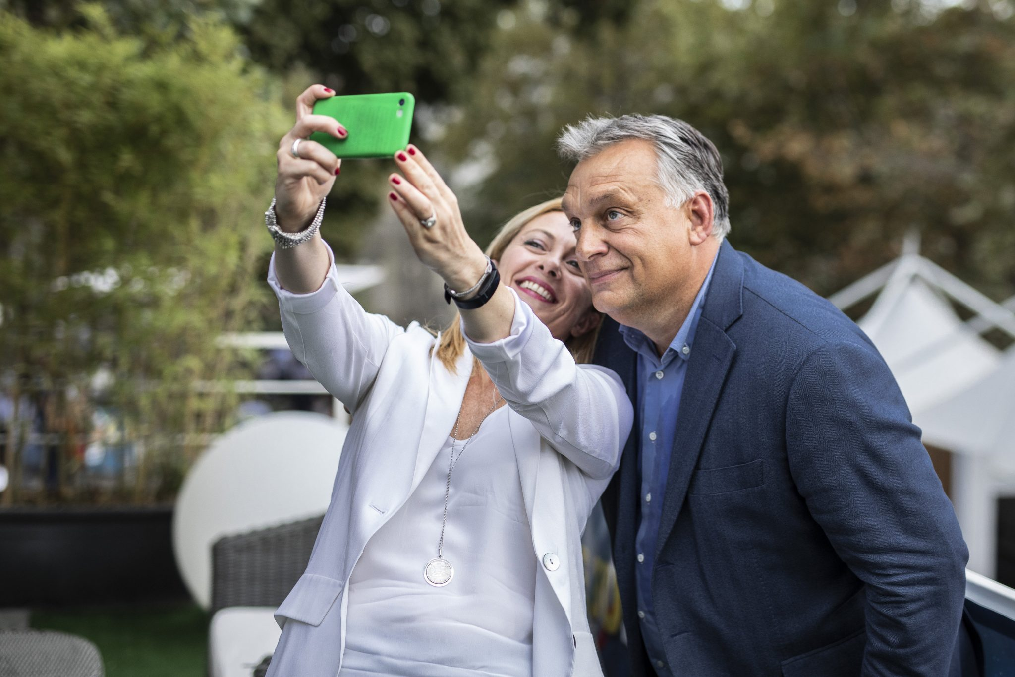Leader of Brothers of Italy: Orbán Our Role Model