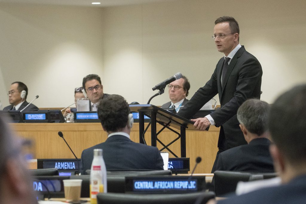 Szijjártó in NY: Hungary Committed to Peaceful Use of Nuclear Energy post's picture