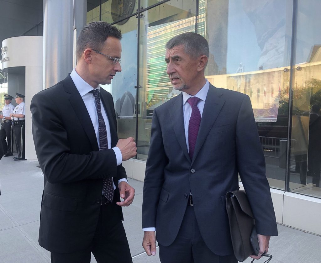 FM Szijjártó: Czech PM Babis Under Political Attack post's picture