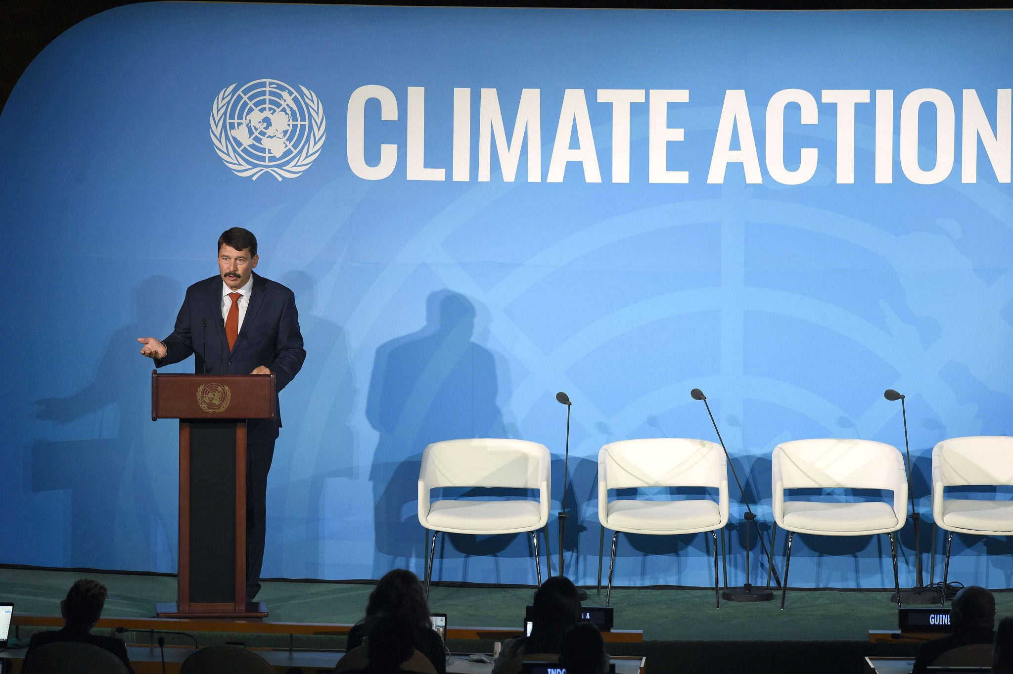 President Áder at UN Climate Summit: 'Cheapest Energy That Which We Don't Use' post's picture